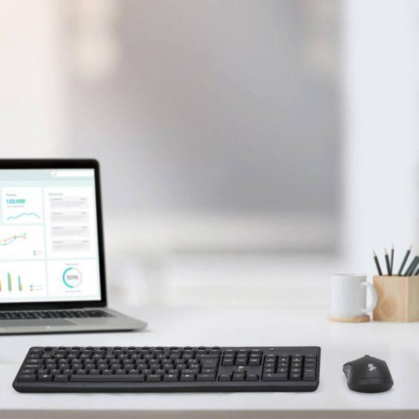 Combo Wireless 2.4GHZ Office – Mouse e Teclado